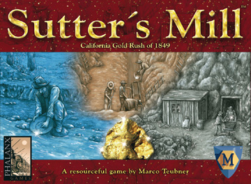 Sutter's Mill Board Game by Mayfair Games