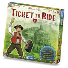 Ticket To Ride: Swiss (Switzerland) Map Expansion by Days of Wonder, Inc.