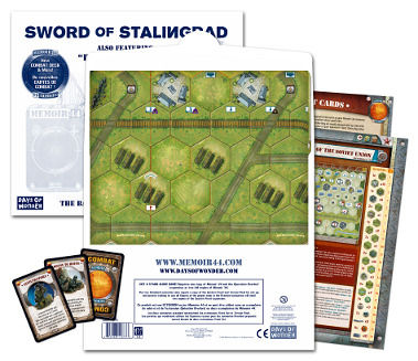 Memoir '44: Battlemap Volume 3 - Sword Of Stalingrad by Days of Wonder, Inc.