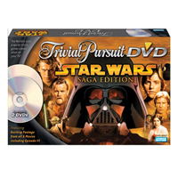 Star Wars Trivial Pursuit w/DVD (Saga Edition) by Hasbro, Inc. / Parker Brothers