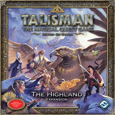 Talisman: The Highland Expansion by Fantasy Flight Games