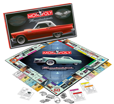 T-Bird (Thunderbird) 50th Anniversary Monopoly by USAOpoly
