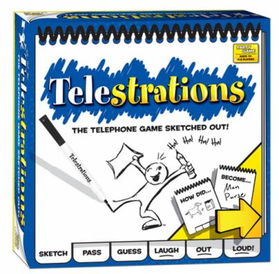 Telestrations Party Game by USAOpoly
