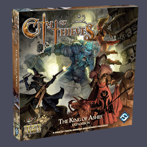 Cadwallon: City of Thieves - Kings of Ashes Expansion by Fantasy Flight Games