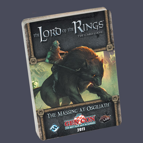 Lord of the Rings LCG: The Massing at Osgiliath Adventure Pack by Fantasy Flight Games