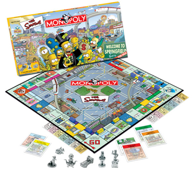 Monopoly Board Game. Monopoly Board Game by