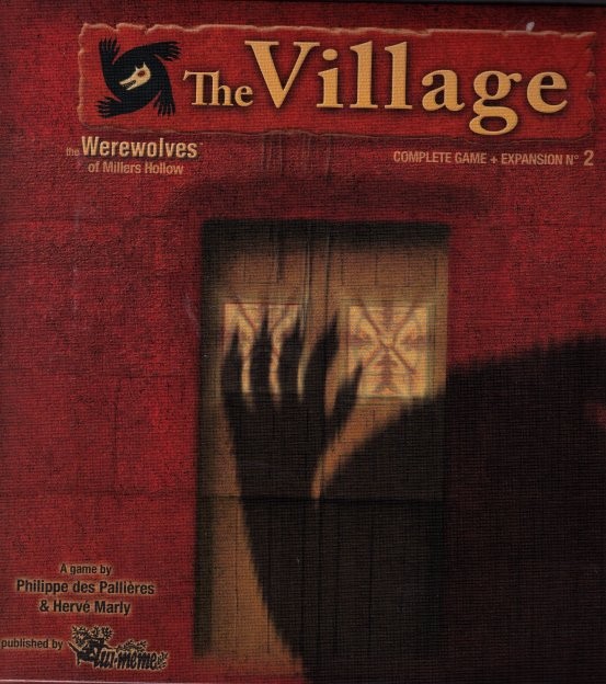 the Werewolves of Millers Hollow: The Village by Asmodee