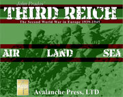 Third Reich: The Second World War In Europe, 1939-1945 by Avalanche Press Ltd.