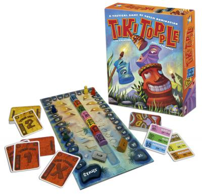 Tiki Topple by Gamewright / Ceaco