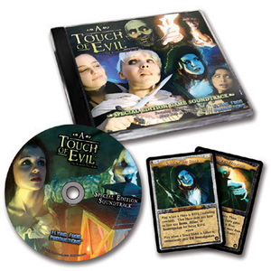 A Touch of Evil Special Edition CD Soundtrack by Flying Frog Productions, LLC