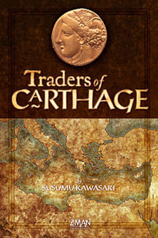 Traders of Carthage by Z-Man Games, Inc.