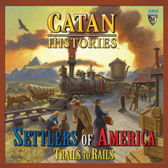 Catan Histories: Settlers Of America - Trails To Rails by Mayfair Games