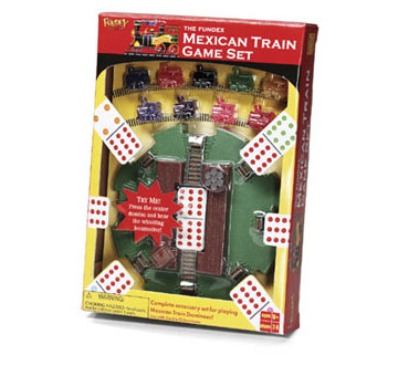 Mexican Train Game Set by Fundex Games