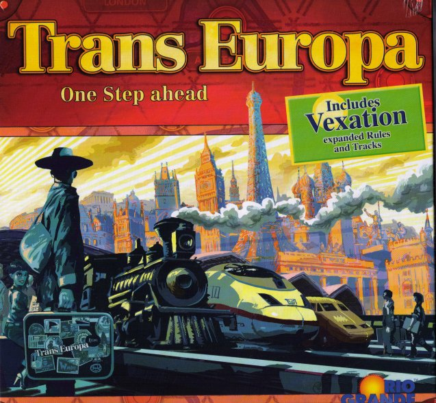 TransEuropa (Trans Europa) - with Vexation expansion by Rio Grande Games