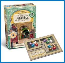 Alhambra: Calif's Treasure Chamber Expansion by Rio Grande Games