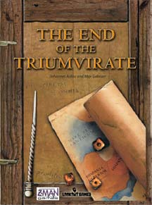 The End Of The Triumvirate by Z-Man Games, Inc.