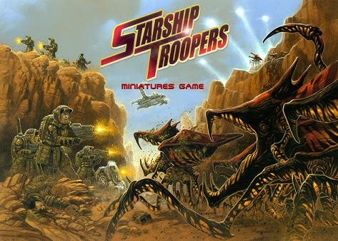Starship Troopers Miniatures Game (Boxed Set) by Mongoose Publishing