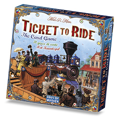 Ticket To Ride Card Game by Days of Wonder, Inc.