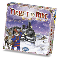 Ticket to Ride Nordic Countries by Days of Wonder, Inc.