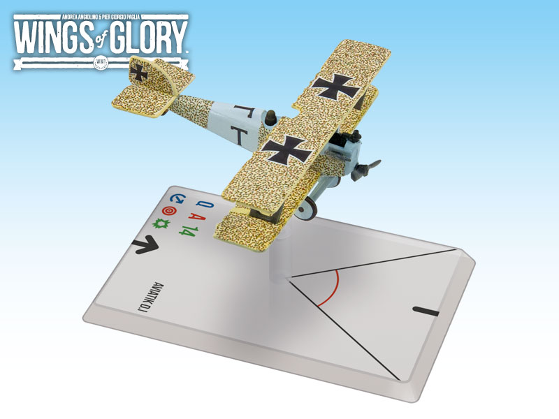 Wings of Glory WWI : Aviatik D.I (Turek) by Ares Games Srl
