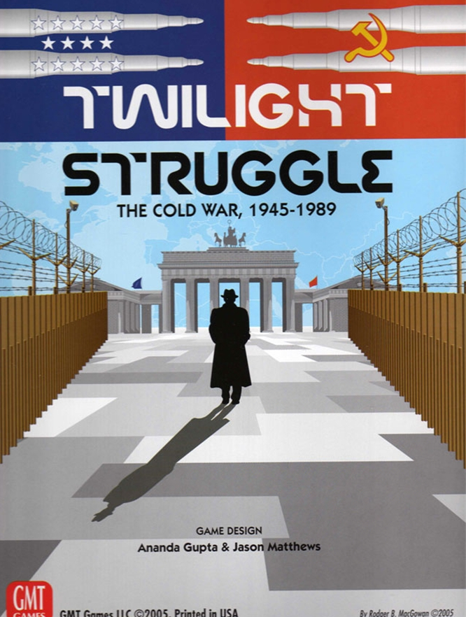 Twilight Struggle Deluxe Edition - 2011 Reprint by GMT Games