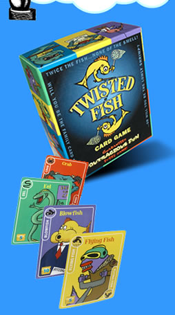 Twisted Fish by McNeill Designs