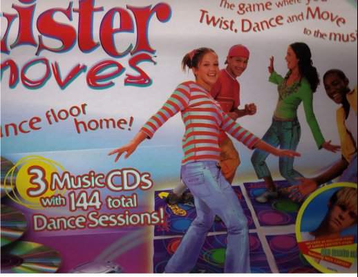 Twister Moves by Hasbro / Milton Bradley