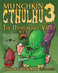 Munchkin Cthulhu 3: Unspeakable Vault by Steve Jackson Games