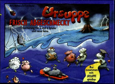 Ursuppe - Frisch Abgeschmeckt (Primordial Soup 5-6 player expansion) - German by Doris & Frank