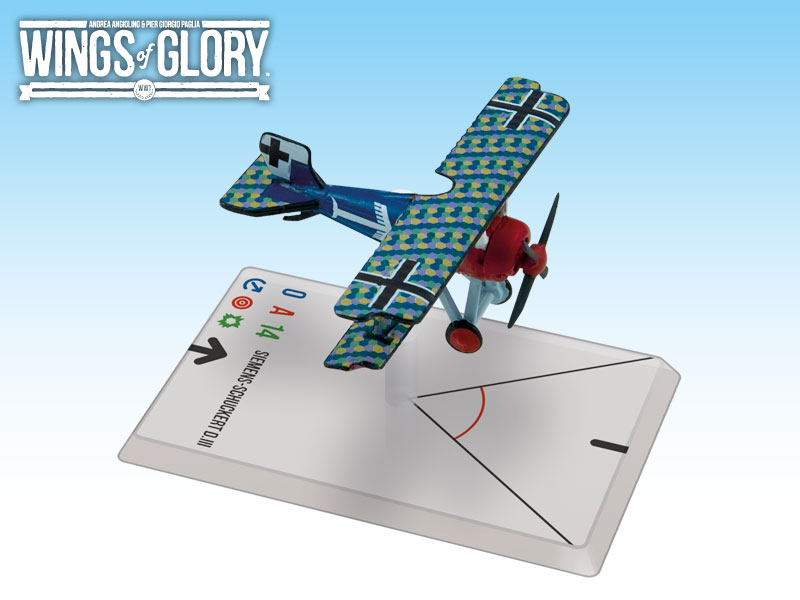Wings of Glory WWI : Siemens-Schuckert D.III (Veltjens) by Ares Games Srl
