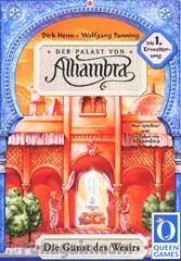 Alhambra: the Vizor's favor by Rio Grande Games