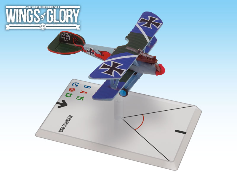Wings of Glory: WWI: Albatros D.VA (Von Hippel) by Ares Games