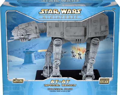 Star Wars CMG: At-At Walker by TSR Inc.