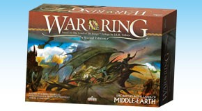 Lord of the Rings: War of the Ring 2nd Edition by Ares Games Srl