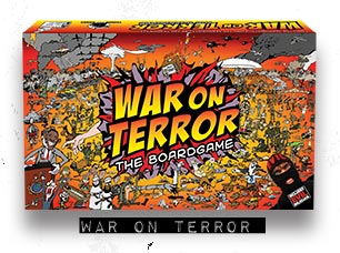 War On Terror Board Game by Terror Bull Games