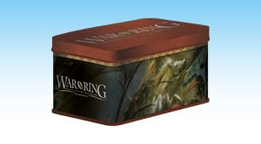 Card Box With Sleeves for Lord Of The Rings: War Of The Ring 2nd Edition by Ares Games Srl