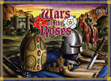 Wars of the Roses: Lancaster Vs York by Z-Man Games, Inc.