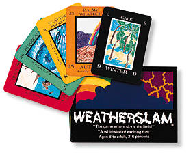 Weatherslam Card Game by US Games Systems, Inc