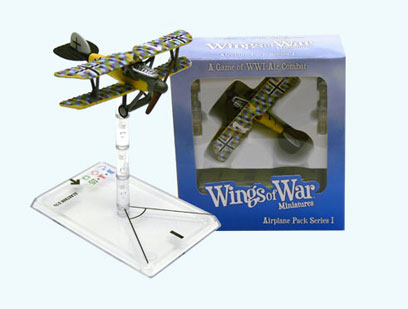 Wings of War miniatures : Albatross D. Va Ludwig Weber (Germany) by Fantasy Flight Games