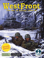 Westfront 2 (The War in Europe 1943-1945) Westfront II 2nd edition by Columbia Games