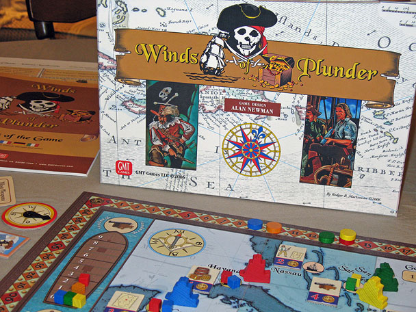 Winds of Plunder by GMT Games