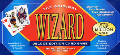 Wizard Card Game Deluxe Edition by US Games Systems, Inc