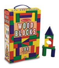 100 Piece Wood Blocks Set by Melissa and Doug