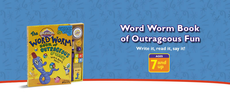 Cranium : The Word Worm Book of Outrageous Fun! by Cranium, Inc.