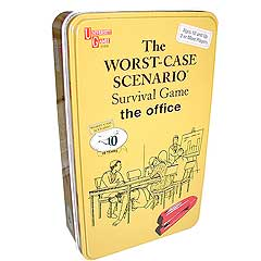 Worst-Case Scenario Office Card Game Tin by University Games