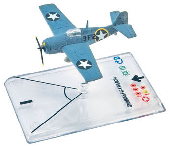 Wings Of War II: Grumman F4F-4 Wildcat (McWorther) by Fantasy Flight Games