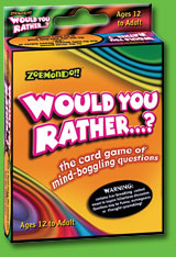 Zobmondo!! Would You Rather Classic Card Game by Zobmondo Entertainment, LLC