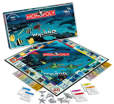 Wyland Underwater Art Monopoly by USAOpoly