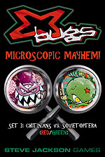 X-Bugs: Set 3 (Red/Green) - Chitinians vs. Sovietoptera by Steve Jackson Games
