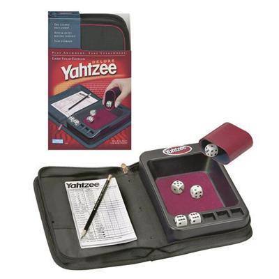 Yahtzee Deluxe Game Folio Edition by Hasbro / Parker Brothers